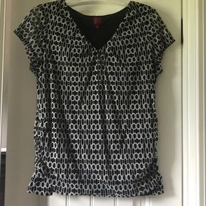Black and White Print 212 Collection Top